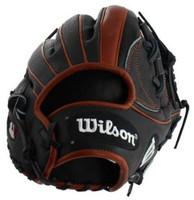 "Wilson A2K 11.75"" SuperSkin Baseball Glove I-Web Infield Model Dri-Lex Wrist"