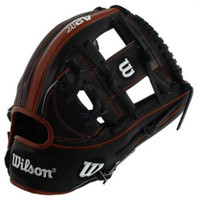 "Wilson A2K 11.75"" SuperSkin Baseball Glove I-Web Infield Model Dri-Lex Wrist"