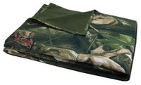 Rapid Dominance HYBRiCAM Camo Reversible Fleece Blanket 60x70 Camouflage Hunting