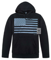 Rapid Dominance Men's USA Flag Pullover Hoodie Hoody United States Patriotic