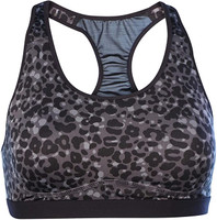 Nike Women's Pro Fierce Lotus Sports Bra Work-Out Exercise (Black, S)
