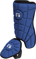 G-Form Youth Batter's Leg Guard Royal RH Hitter Batters Ankle Protection
