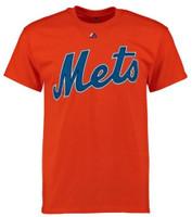Fanatics Mens MLB New York Mets Tee T-Shirt Crew Neck Short Sleeve Baseball
