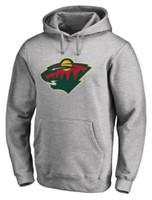 Adidas Men's Minnesota Wild NHL National Hockey League Hoodie Sweatshirt Hoody