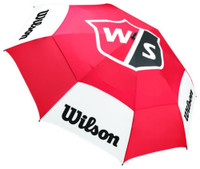 "Wilson Staff Tour Golf Umbrella Golf Bag (68"") Golfing Double Canopy UV Protect"