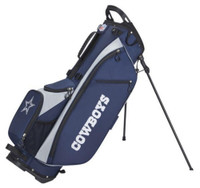 Wilson Staff NFL Dallas Cowboys Carry Golf Bag Straps and Stand 4 Divider