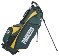 Wilson Staff NFL Green Bay Packers Carry Golf Bag Straps and Stand 4 Divider
