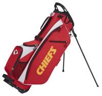Wilson Staff NFL Kansas City Chiefs Carry Golf Bag Straps and Stand 4 Divider