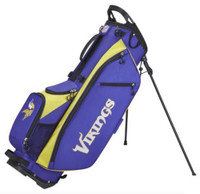Wilson Staff NFL Minnesota Vikings Carry Golf Bag Straps and Stand 4 Divider