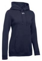 Under Armour Women's UA Hustle Fleece Hoodie Hoody Kangaroo Pocket Color Choice