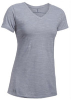 Under Armour Women's Performance Stadium T-Shirt Tee V-Neck Color Choices