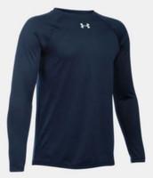 Under Armour Men's Locker Long Sleeve Crew Tee T-Shirt Jersey UA Color Choice