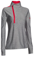 Under Armour Women's Hotshot 1/2 Zip Athletic Workout Top Shirt Color Choice