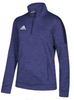 Adidas Women's Team Issue 1/4 Zip Fleece Pullover Shirt Top Color Choice 113WFL
