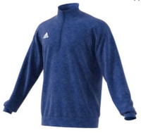 Adidas Men's Team Issue 1/4 Zip Fleece Pullover Shirt Top Color Choice 111FFL