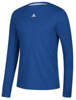 Adidas Men's Adult Go To Performance Climalite LS Tee T-Shirt Sport Color Choice