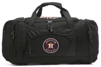 "Northwest MLB Houston Astros Roadblock Duffle Duffel 20""x 11.5"" Pockets Texas"