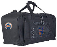"Northwest MLB New York Mets Roadblock Duffle Duffel 20""x 11.5"" Pockets NYC"