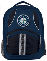 "Northwest MLB Seattle Mariners Captains Backpack 18.5""x 13"" Front Pocket CA"