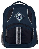 "Northwest MLB Tampa Bay Rays Captains Backpack 18.5""x 13"" Front Pocket CA"