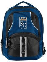 "Northwest MLB Kansas City Royals Captains Backpack 18.5""x 13"" Front Pocket MO"