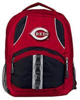 """Northwest MLB Cincinnati Reds Captains Backpack 18.5""""x 13"""" Front Pocket Ohio"""