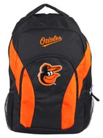 "Northwest MLB Baltimore Orioles Draftday Backpack 18""x 12"" Front Pocket MD"