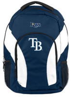 "Northwest MLB Tampa Bay Rays Draftday Backpack 18""x 12"" Front Pocket Florida"