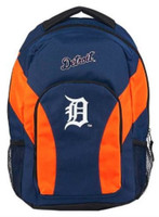 "Northwest MLB Detroit Tigers Draftday Backpack 18""x 12"" Front Pocket Michigan"