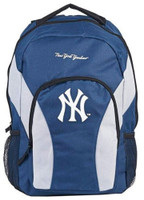 "Northwest MLB New York Yankees Draftday Backpack 18""x 12"" Front Pocket NYC"