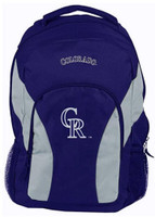 "Northwest MLB Colorado Rockies Draftday Backpack 18""x 12"" Front Pocket CO"