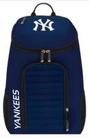 "Northwest MLB New York Yankees Topliner Backpack 18""x 12"" Front Pocket NYC"