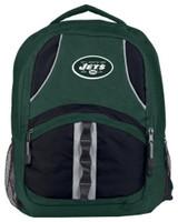 """Northwest NFL New York Jets Captains Backpack 18.5""""x 13"""" Front Pocket NYC"""