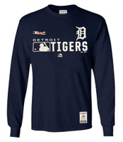 Majestic Mens MLB Detroit Tigers Distinction Tee T-Shirt Long Sleeve Baseball MI