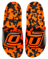 Hype Unisex Oklahoma State University Collegiate Slydr Sandal Shoe Swim Shower