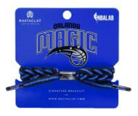 Rastaclat Basketball Orlando Magic Home Braided Bracelet - Black & Blue