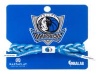 Rastaclat Basketball Dallas Mavericks Alternate Braided Bracelet - Blue & Gray