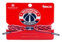 Rastaclat Basketball Washington Wizards Home Braided Bracelet - Red & Navy