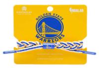 Rastaclat Basketball Golden State Warriors Away Braided Bracelet - White