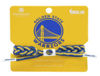 Rastaclat Basketball Golden State Warriors Alternate Braided Bracelet - Blue