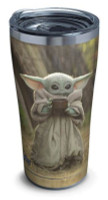 Tervis Mandalorian The Child Sipping 20 oz Stainless Tumbler Travel Cup Mug