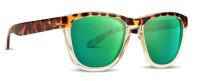 Epoch Eyewear LXE Sport Sunglasses – Turtle Frame & Polarized Green Lenses