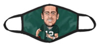 Shinesty NFL Players Association Aaron Rodgers Reusable Protective Face Mask