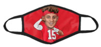 Shinesty NFL Players Association Patrick Mahomes Reusable Protective Face Mask