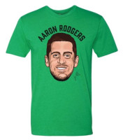 Shinesty NFL Player's Association Aaron Rodgers Super Soft Poly Blend Tee