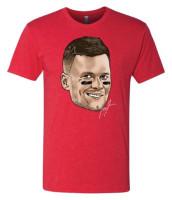 Shinesty NFL Player's Association Tom Brady Super Soft Poly Blend Tee