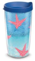 Tervis Beach Impressions 16 oz BPA Free Plastic Tumbler Mug With Traveler Lid