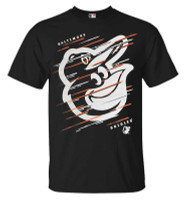 Fanatics Men's MLB Baltimore Orioles Team Streak Short Sleeve Crew Neck T-Shirt