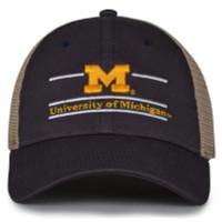 The Game University of Michigan Wolverines M Logo Split Bar Adjustable Cap