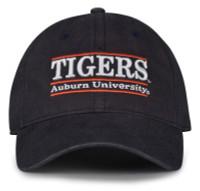 The Game Auburn University Tigers Team Name Bar Design Adjustable Cap – Navy